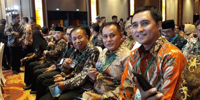 Dibuka Jokowi, Nanang Ermanto Hadiri Rakornas Investasi Tahun 2020 Di Ritz Carlton
