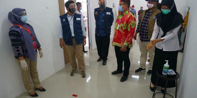 Monitoring SKB di ITERA, Waka BKN Puji SOP yang diterapkan Lampung Selatan