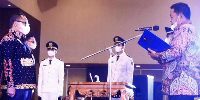 Pjs Gubernur Sulut Agus Fatoni Ucapkan Selamat Pelantikan Sulpakar sebagai Ketua DPP IKAPTK Lampung 2020-2025