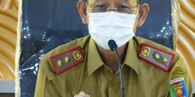 Pjs. Bupati Lampung Tengah Adi Erlansyah Hadiri Rapat Persiapan Pemeriksaan oleh Tim Inspektorat Provinsi Lampung