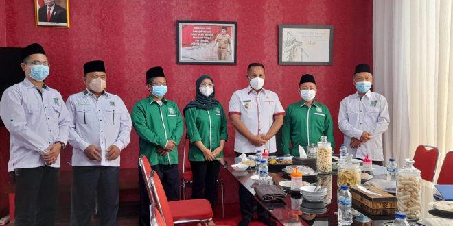 Jalin Sinergi, DPC PKB Lampung Selatan Audiensi dengan Bupati Nanang